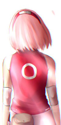 Аватар вконтакте Сакура Харуно / Sakura Haruno из аниме Наруто / Naruto, by Nadaaarrr