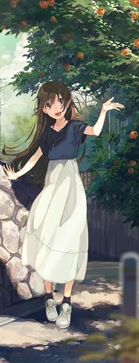 Аватар вконтакте Девушка стоит под деревом