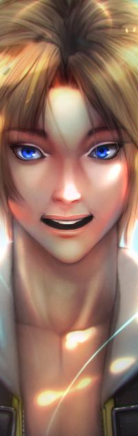 Аватар вконтакте Тидус / Tidus из игры Final Fantasy X, by simoneferriero