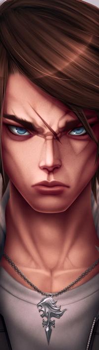 Аватар вконтакте Персонаж со шрамом на лице, by simoneferriero