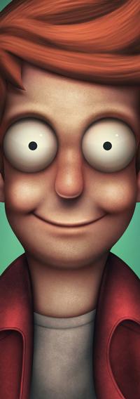 Аватар вконтакте Филип Фрай / Philip Fry из мультсериала Футурама / Futurama, by simoneferriero
