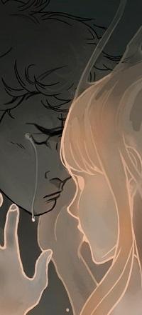 Аватар вконтакте Девушка обнимает плачущего парня