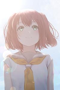 Аватар вконтакте Руби Куросава / Ruby Kurosawa из аниме Живая любовь! Проект «Школьный идол» / Love Live! School Idol Project, автор Papi