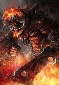 Аватар вконтакте Золотой китайский император Dragon Fantasy Art