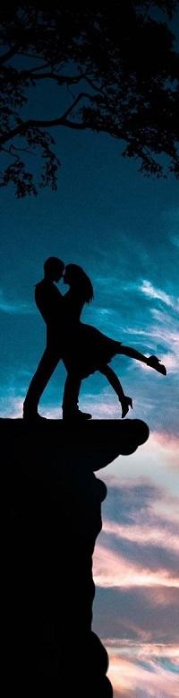 99px.ru аватар Влюбленные стоят на обрыве