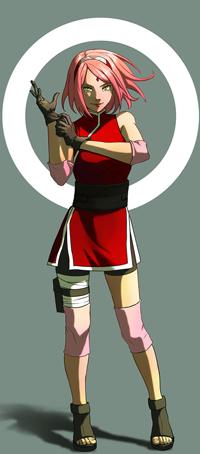 Аватар вконтакте Сакура Харуно / Sakura Haruno из аниме Наруто / Naruto, by Yuushin7