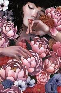 Аватар вконтакте Девушка в окружении цветов
