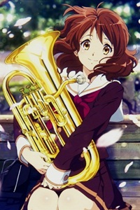 Аватар вконтакте Kumiko Oumae / Кумико Омаэ из аниме Hibike! Euphonium / Звучи! Эуфониум