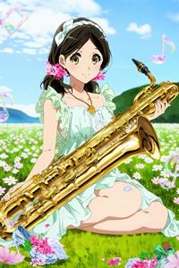 Аватар вконтакте Харука Огасавара / Haruka Ogasawara из аниме Звучи! Эуфониум / Hibike! Euphonium