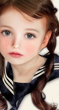 Аватар вконтакте Девочка с косичками в морской форме