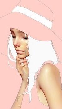 Аватар вконтакте Грустная девушка в шляпе, by CezarBrandao
