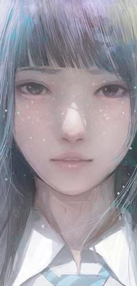 Аватар вконтакте Портрет девушки, by wataboku