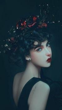 Аватар вконтакте Девушка с венком на голове