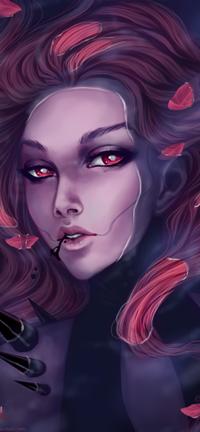 Аватар вконтакте Красноволосая девушка в воде, by Anastasia-berry
