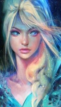 Аватар вконтакте Портрет Elsa / Эльзы из мультфильма Холодное сердце / Frozen, by rossdraws