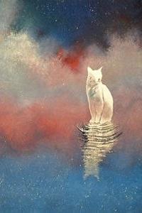 Аватар вконтакте Белый кот и его отражение а воде, by Raphaеl Vavasseur