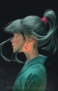 Аватар вконтакте Девушка с арбузными сережками в ушах, by DoubleD67