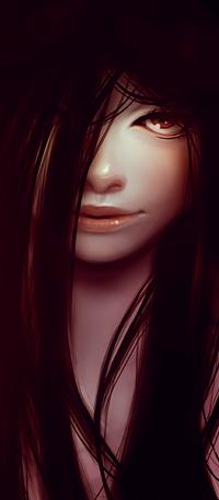 Аватар вконтакте Темноволосая девушка, by rafaarsen