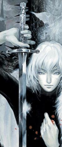 Аватар вконтакте Белокурый ангел с мечом