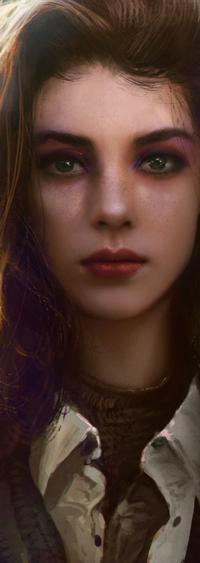 99px.ru аватар Портрет девушки, by mehdic