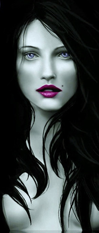 99px.ru аватар Полуобнаженная девушка с длинными волосами