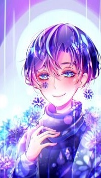 99px.ru аватар Мальчик с голубыми волосами