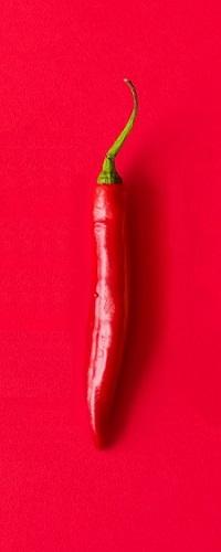 Аватар вконтакте Острый красный перчик на красном фоне