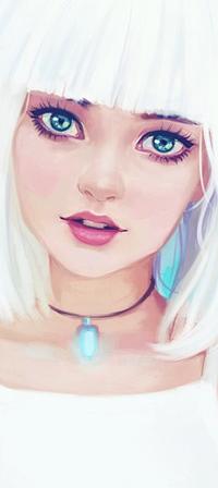 Аватар вконтакте Белокурая девушка, by Hiba-tan