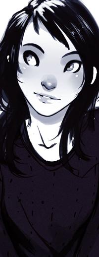 Аватар вконтакте Девушка на белом фоне, by Raichiyo33