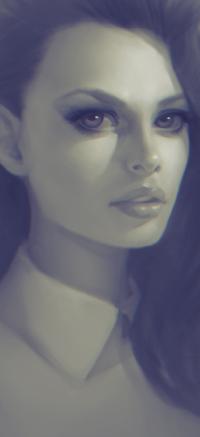 Аватар вконтакте Девушка в рубашке, by Lagunaya