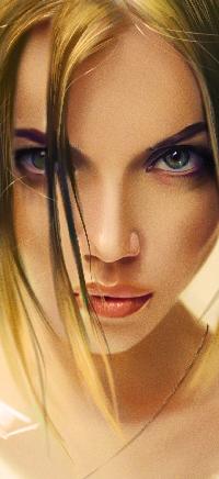 Аватар вконтакте Светловолосая девушка, by vurdeM