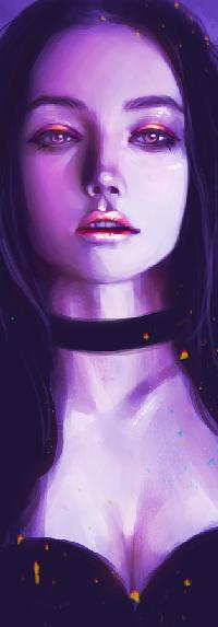 Аватар вконтакте Темноволосая девушка, by serafleur
