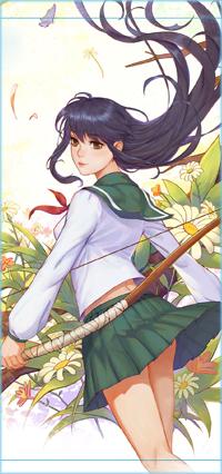 Аватар вконтакте Кагоме Хигураши / Kagome Higurashi из аниме Inuyasha / Инуяша