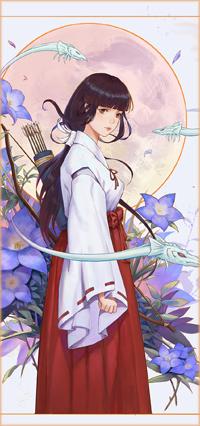 Аватар вконтакте Kikyou / Кике из аниме Инуяша / Inuyasha