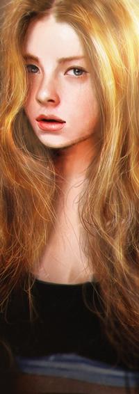 Аватар вконтакте Светлая длинноволосая девушка, by Razaras