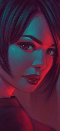 Аватар вконтакте Темноволосая девушка, by AngelGanev