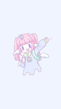 Аватар вконтакте Девочка-единорожка Melty Melco машет рукой