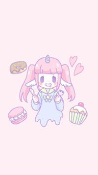 Аватар вконтакте Девочка-единорожка Melty Melco любит сладости