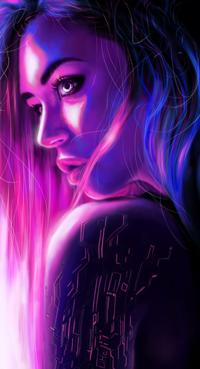 Аватар вконтакте Длинноволосая девушка в цветах, by Caroline1233