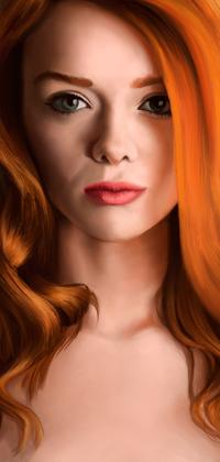 Аватар вконтакте Девушка с длинными рыжими волосами, by Dmitry-Dolmatov