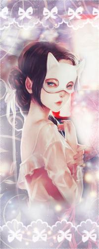 Аватар вконтакте Загадочная девушка в маске кошки