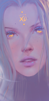 Аватар вконтакте Девушка с янтарными глазами, by z-a-i-n-a