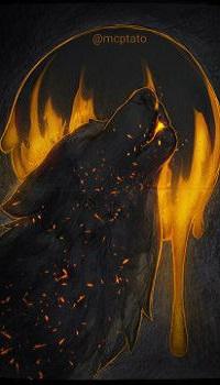 Аватар вконтакте Воющий волк, by mcptato