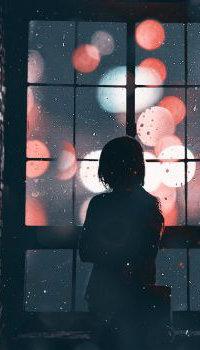 Аватар вконтакте Девушка стоит у окна, by NemondO