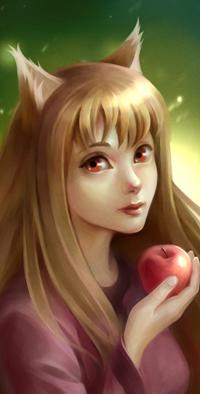 Аватар вконтакте Horo / Хоро из аниме Spice and Wolf / Волчица и пряности, by jolakotturinn