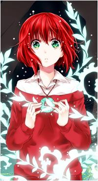 Аватар вконтакте Чисэ Хатори / Chise Hatori из аниме Невеста чародея / Mahoutsukai no Yome
