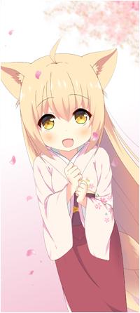 Аватар вконтакте Юзу / Yuzu из аниме Загадочная история «Коноханы» / Konohana Kitan