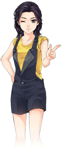 Аватар вконтакте Персонаж аниме-игры Mega Anime Avatar Creator / Создай своего персонажа аниме, by Rinmaru