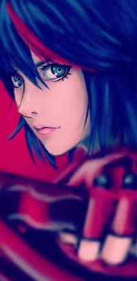 Аватар вконтакте Ryuuko Matoi / Рюко Матой из аниме Kill la Kill / Убей или умри, by Demonconstruct
