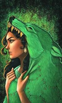 Аватар вконтакте Девушка в шкуре волка, by Jason Chan